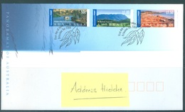 AUSTRALIA  - FDC - 1.5.2002 - PANORAMAS LANSCAPES - Yv 2028-2030 - Lot 18603 - Premiers Jours (FDC)