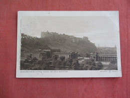 Scotland > Midlothian/ Edinburgh Castle National Gallery & Royal Institution R            Ref 3097 - Midlothian/ Edinburgh