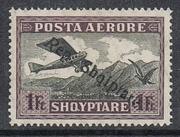 ALBANIE AERIEN N°12 N* - Albanie