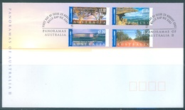 AUSTRALIA  - FDC - 23.8.2002 - PANORAMAS LANSCAPES - Yv 2047-2050 - Lot 18604 - Premiers Jours (FDC)