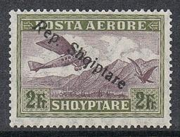 ALBANIE AERIEN N°13 N* - Albanie