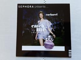 """CACHAREL   """"   Catch...me   """"  Carte Glacée ▪  Photo  R/V !! - Perfume Cards"""