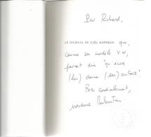 Dédicace De Marianne Rubinstein - Le Journal De Yaël Koppman - Livres, BD, Revues