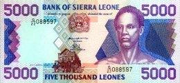 Sierra Leone 5.000 Leones, P-21c (27.4.1997) - UNC - Sierra Leona