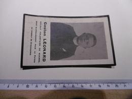 18WG - Gaston Léonard Soldat Volontaire Mort Patrie Steenkerke 1916 Né Forchies La Marche - Décès