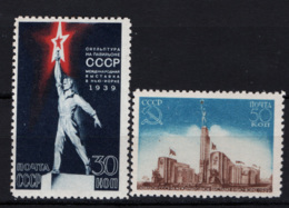 Russia 1939 Unif. 709/10 */MH VF/F - 1923-1991 URSS