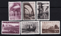 Russia 1938 Unif. 670/75 */MH VF/F - 1923-1991 URSS