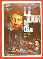 CINEMA-CARTOLINA MANIFESTO FILM-ALBA TRAGICA-JEAN GABIN-JACQUELINE LAURENT- - Manifesti Su Carta