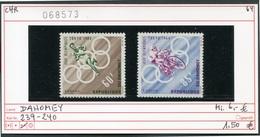 Dahomey -  Michel 239-240 - ** Mnh Neuf Postfris - Olympiade 1964 - Briefmarken