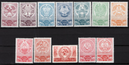 Russia 1938 Unif. 635/46 */MH VF/F - 1923-1991 URSS