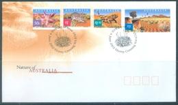 AUSTRALIA  - FDC - 4.6.2002 - NATURE OF AUSTRALIA - Yv 2033-2036 - Lot 18605 - Premiers Jours (FDC)