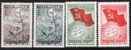Russia 1938 Unif. 617/20 */MH VF/F - 1923-1991 URSS