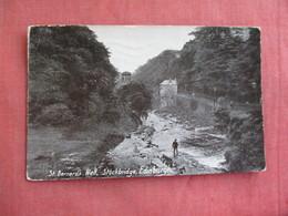 Scotland > Midlothian/ Edinburgh     St Bernard's Well  Stockbridge-- Has Stamp & Cancel    Ref 3097 - Midlothian/ Edinburgh