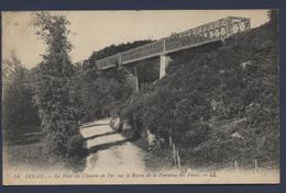 Dinan Le Pont De Chemin De Fer Sur Le Ravin De La Fontaine Des Eaux - Dinan