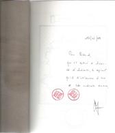 Dédicace De Diane Meur - Les Vivants Et Les Ombres - Livres, BD, Revues