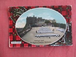 Scotland > Midlothian/ Edinburgh     Roberston  Sutherland Highlanders- Has Stamp & Cancel    Ref 3097 - Midlothian/ Edinburgh