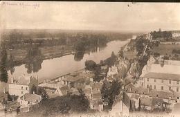 France & Chinon, Vue Générale Et La Vallée De La Vienne, Pensione Scoti, Firenze Italia  1906 (2) - Souvenir De...