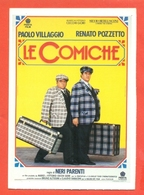CINEMA-CARTOLINA MANIFESTO FILM-LE COMICHE-PAOLO VILLAGGIO-RENATO POZZETTO - Manifesti Su Carta