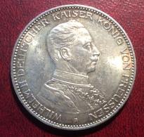 3 Mark 1914 Preussen Königreich Deutsches Reich KAISER WILHELM II, J. 113 VZ-STG (Münze MS UNC Coin Monnaie - 2, 3 & 5 Mark Silber