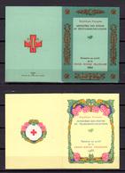 1964-69  France , Carnets Croix-Rouge,  Ca 2013 / 2018**, Cote 49 €, - Carnets