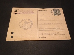 GROSS-HESSISCHES ROTES KREUZ KREISVEREIN OFFENBACH / M - DARMSTADT - LUEDENSCHEID 1946 - U.S. CIVIL CENSORSHIP - Croix-Rouge
