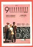 CINEMA-CARTOLINA MANIFESTO FILM-A SPASSO CON DAISY-MORGAN FREEMAN-JESSIC ATANDY-DAN AYKROYD - Manifesti Su Carta