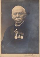 Photo 1933 Jacob Verviers Avec Médaille Décoration Par Wettstein Dédicace Au Dos Voir Scan - Krieg, Militär