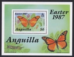 ANGUILLA 1987 FARFALLE - Anguilla (1968-...)