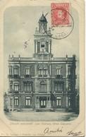 CPA Espagne Circulo Mercantil Las Palmas Gran Canaria Voyage 1905 Rare - Gran Canaria