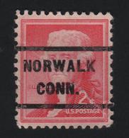USA  1080 SCOTT 1033 NORWALK CONN. - Etats-Unis