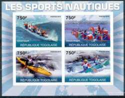 [35337]Republique Togolaise - ND/imperf - Les Sports Nautiques - Canoé-Kayak - Bateau-Dragon - Kano