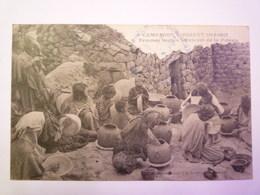 CAMPAGNE D'ORIENT  1914 - 1917  :  Femmes  SERBES Fabricant De La  POTERIE   1917   XXXX - Serbie