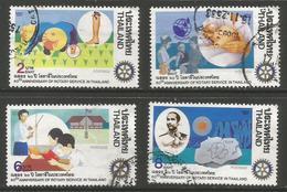 Thailand - 1990 Rotary International Used   Sc 1353-6 - Thailand