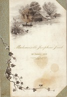 Menu 30 Janvier 1894 Pour Joséphine Jacob Verviers - Menus