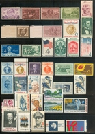 1936-1971 Lot 38 Different Mint - Unused Stamps
