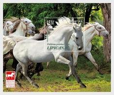 Kroatië / Croatia - Postfris / MNH - Sheet Paarden 2018 - Kroatië