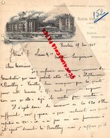 ROYAUME UNI-ANGLETERRE- RARE LETTRE MANUSCRITE BUXTON HYDROPATHIC- BUXTON DERBYSHIRE -1905 - Ver. Königreich