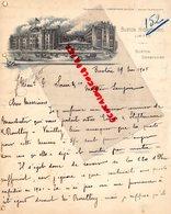 ROYAUME UNI-ANGLETERRE- RARE LETTRE MANUSCRITE BUXTON HYDROPATHIC- BUXTON DERBYSHIRE -1905 - United Kingdom