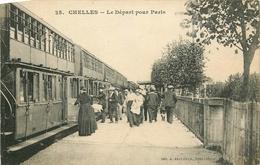 Lot De 50 CPA Trains Et Gares Plusieurs Animations - Postcards