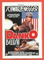 CINEMA-CARTOLINA MANIFESTO FILM- DANKO-ARNOLD SCHWARZENEGGER-JAMES BELUSHI-PETER BOYLE-GINA GERSHON - Manifesti Su Carta