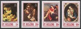 St.Helena 1988 Mi# 487-90** CHRISTMAS - Saint Helena Island
