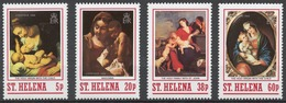St.Helena 1988 Mi# 487-90** CHRISTMAS - Isla Sta Helena