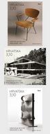 Kroatië / Croatia - Postfris / MNH - Complete Set Moderne Architectuur 2018 - Kroatië