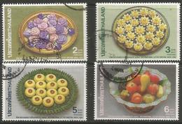 Thailand - 1990 Correspondence Week Used   Sc 1357-60 - Thailand