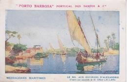 EGYPTE - ALEXANDRIE - LE NIL - PORTO BARROSA - PORTUGAL DOS SANTOS & CIE - Alexandrie