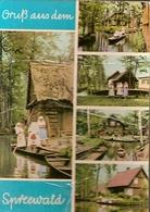 Germany & Circulated, Greetings From Spreewald-Blota,  Spartakiade Berlin, Klein-Winternheim D.D.R 1966 (4075) - Souvenir De...
