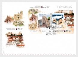 Kroatië / Croatia - Postfris / MNH - FDC Sheet Joint-Issue Filipijnen-Kroatië 2018 - Kroatië