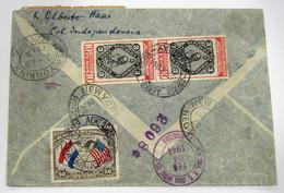 Paraguay 401(2)-21(2)-3+Aéreo 111 - Paraguay