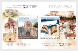 Kroatië / Croatia - Postfris / MNH - Sheet Joint-Issue Filipijnen-Kroatië 2018 - Kroatië