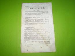 Convention De Poste France,Belgique. Retraite Douanes En Guyane.Pont En Bois à Magnicourt (Aube) Avec Tarifs De Passage - Decrees & Laws